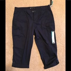 Lee's Relaxed fit petite navy capris